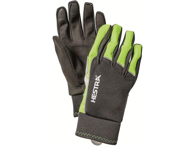 Hestra Bike WS Tracker Sr. 5 Finger Gloves yellow/black